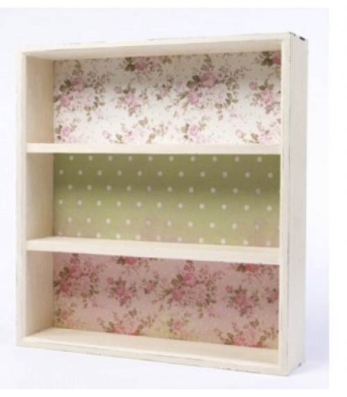 Floral Shelf Unit