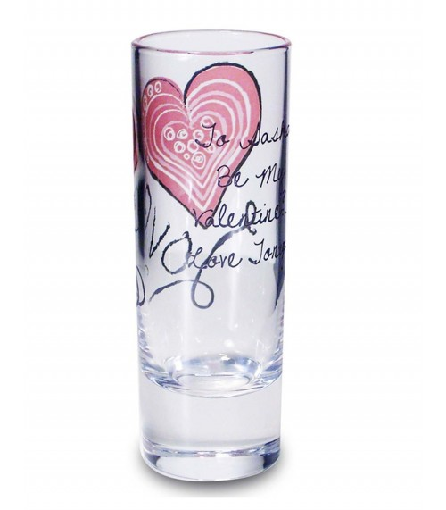 Personalised Love Shot Glass