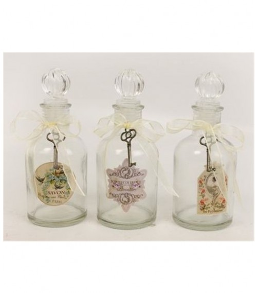 Vintage Storage Glass Bottles