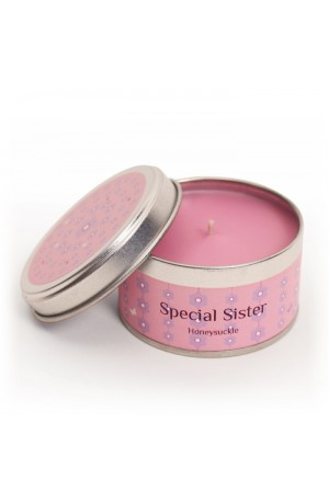 Special Sister Tinned Candle