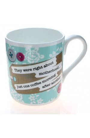 Just One More Coffee Morning Mug by Catherine Colebrook