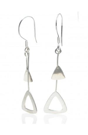 Triangle Shape Earrings by Felicity Gail