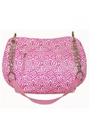 Pink Lola Mosaic Bag by Earth Squared