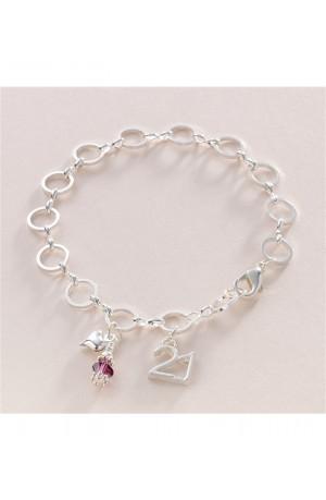 21st Birthstone Bracelet