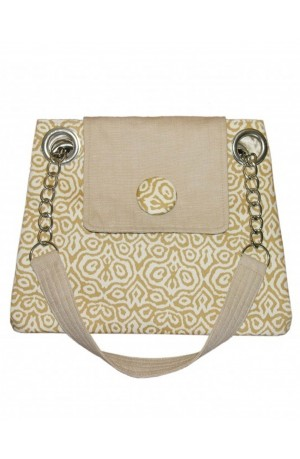 Champagne Mosaic Lara Bag by Earth Squared