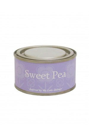 Sweet Pea Tin Candle by Pintail Candles