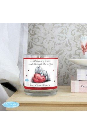 Me To You Personalised Scented Candle