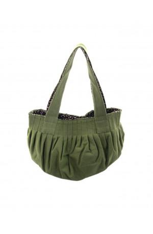 Green Felt Ball Handbag by Earth Squared
