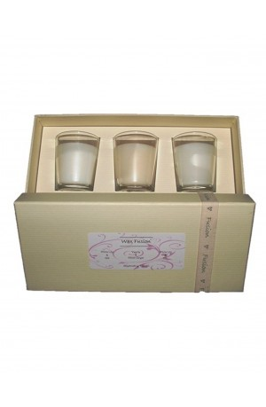 White Lily & Silk Pintail Candle Gift Box