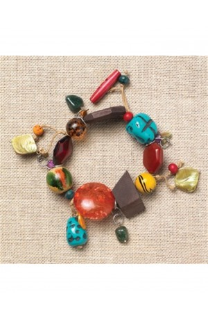 Amelie Fair Trade Bracelet by Nkuku