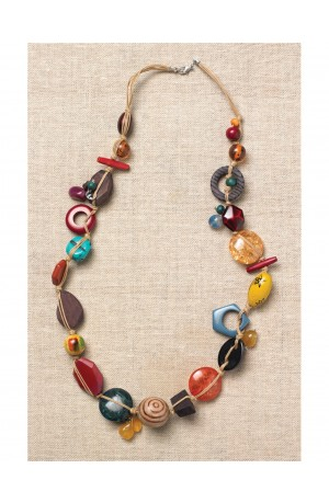 Amelie Fair Trade Necklace by Nkuku