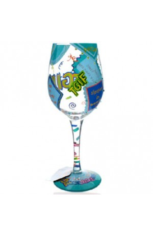 Thank God Its Friday Lolita Wine Glass