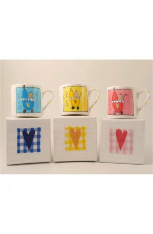 It's a Girl Hand-painted Boxed Mug