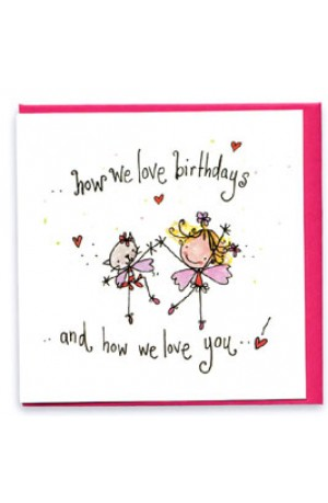 Juicy Lucy Card - How We Love Birthdays