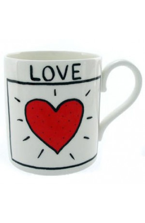 Love Mug by Edward Monkton