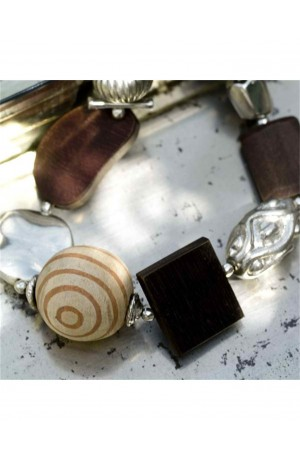 Naveena Fair Trade Bracelet by Nkuku