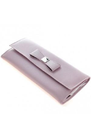 Clara Pink Bow Jewellery Roll 70463