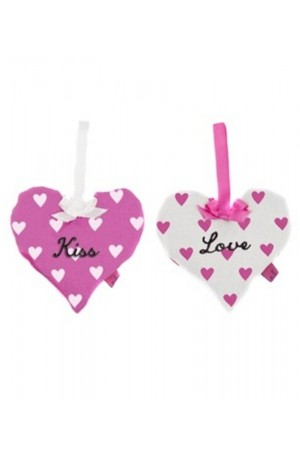 Love Lavender Hearts Set of 2 by Bombay Duck