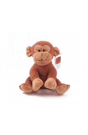 Freddie the Cheeky Monkey with Engraved Message Heart