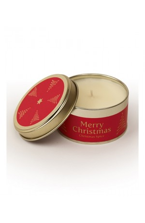 Merry Christmas - Christmas Spice Pintail Candle