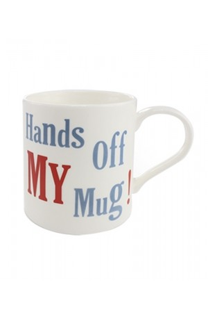 Hands Off  China Mug