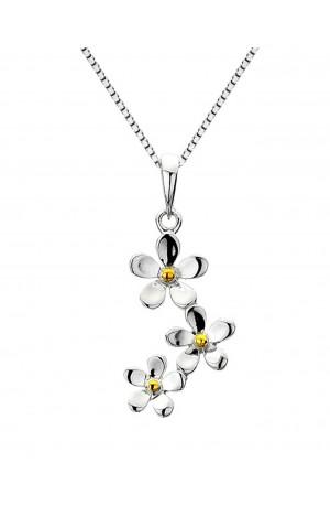 Sea Gems Daisy Pendant