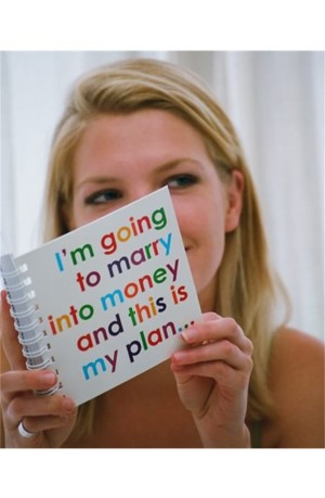I am going to Marry into Money Notebook