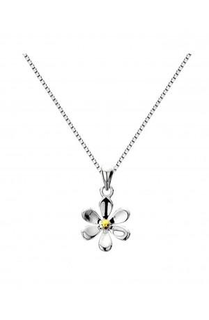 Sea Gems Sterling Silver Daisy Pendant - P1150