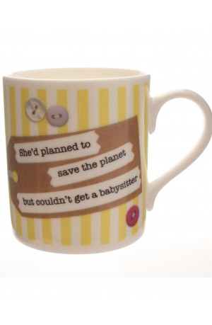 Need a Babysitter to Save the Planet Mug