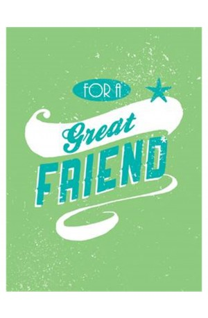 For A Great Friend Book