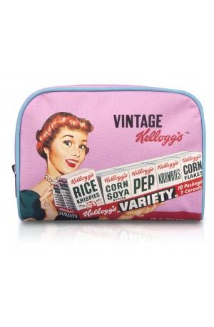 Kellogg's Vintage Make Up Bag