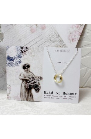 Maid of Honor Links Necklace