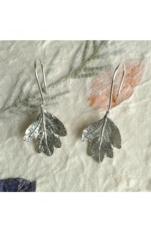 Lead-free Pewter Hawthorn Earrings by Glover and Smith