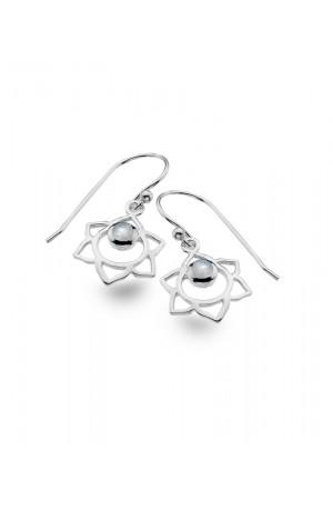 Pearl Drop Earrings Freshwater by Luna London