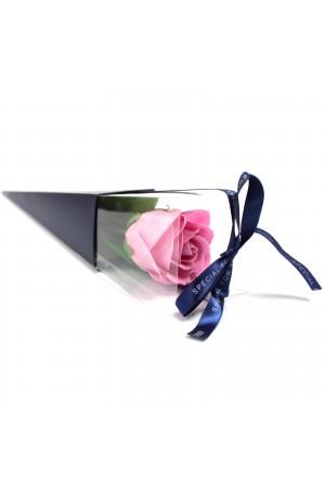 Single Pink Luxury Soap Rose