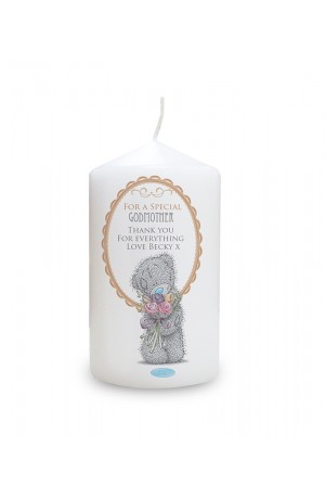 Me to You Flowers Personalised Candle for Her