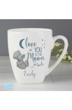 Me to You 'Love You to the Moon and Back' Personalised Latte Mug