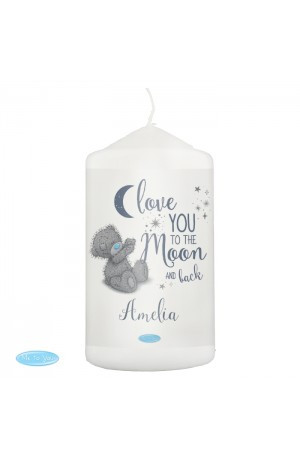 Me to You 'Moon and Back' Personalised Candle