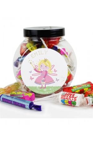 Personalised Garden Fairy Sweets Jar
