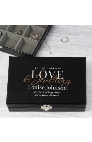 Personalised Jewellery Organiser Box