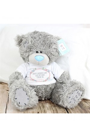 Personalised Me to You Bear with a Floral Tee-Shirt