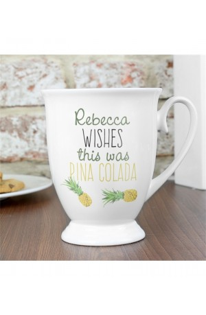 Personalised Pineapple Mug