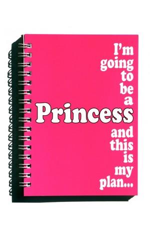 Princess Notebook A6