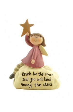 Reach for the Moon Fairy Figure