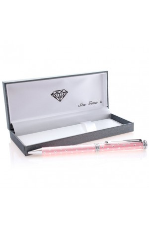 Sea Gems Galaxy Pink Pearlescent Rollerball