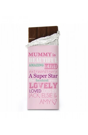 She is Personalised Chocolate Bar