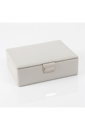 Small Stone Leather Jewellery Box