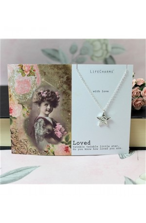 Twinkle Little Star - Loved Necklace