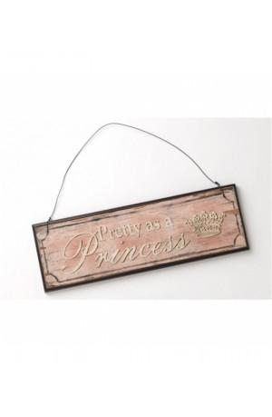 Wooden Princess Sign